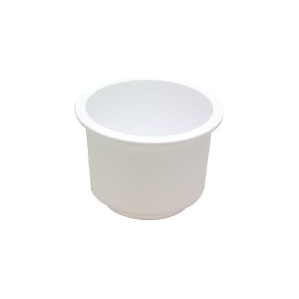 Drink Holder White Lg Recessed T&H-Lch-1W-Sc