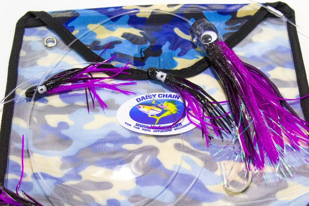 5 Squid Skirt Trolling Daisy Chain - JAW Lures