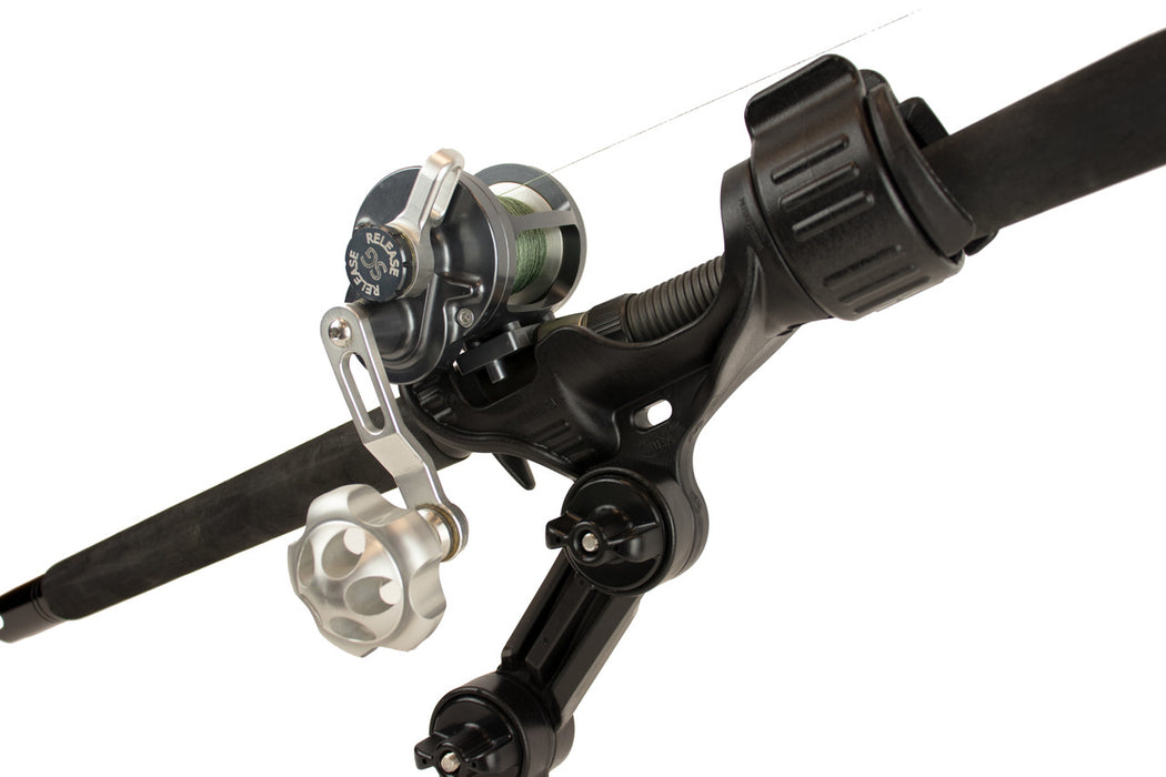 Omega Pro Rod Holder with Track Mounted LockNLoad Mounting System