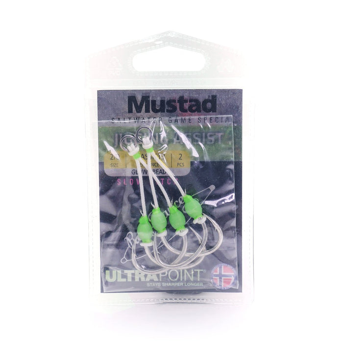 Slow Pitch Double Jigging Assist Rig - Mustad