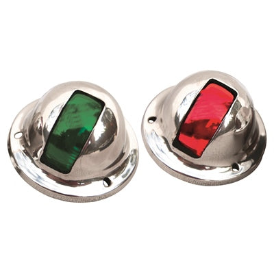Stainless Steel Side Mount Dome Navigation Lights - Marpac