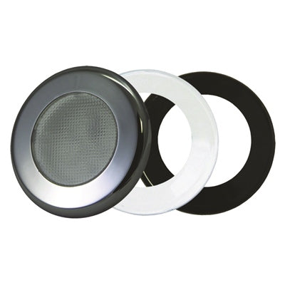 Marine Recessed 3in L.E.D. Puck Lights - T-H Marine