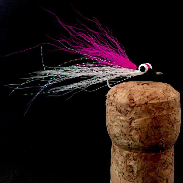 Pink/White Clouser