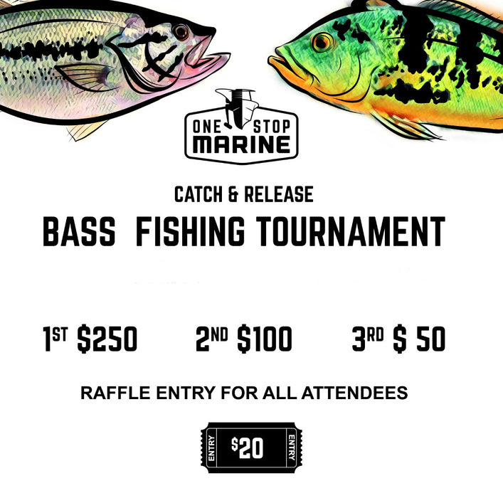 Bass Fishing Tournament Entry
