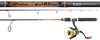 Black Beard Spinning Combo - Hurricane