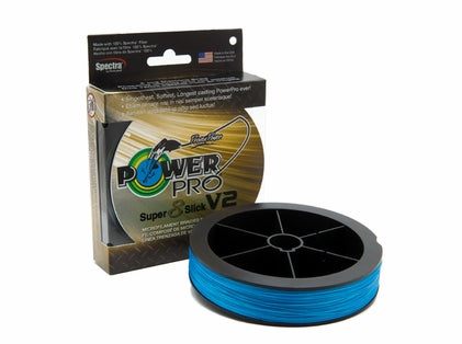 Super 8 Slick V2 300yd - Blue - Power Pro