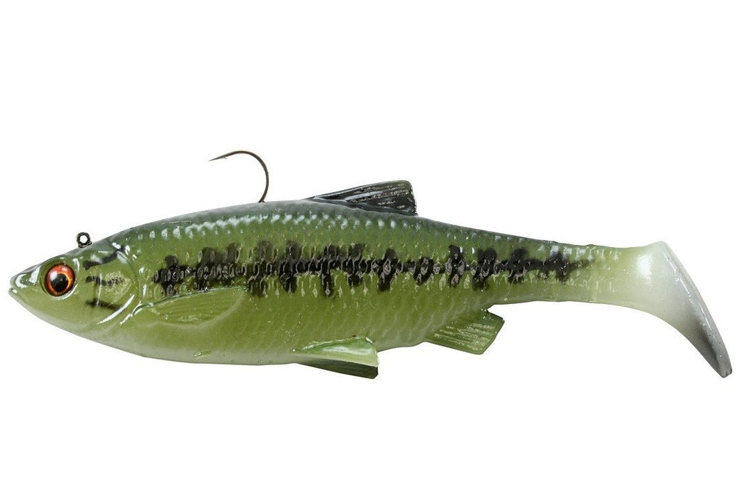 3D Baitfish Paddle Tail - 4in 3/8oz -  Savage Gear