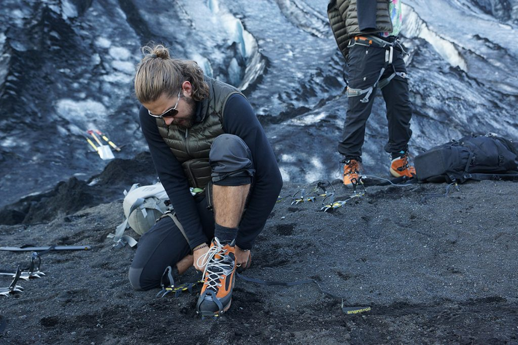 Iceland Hike Crampons