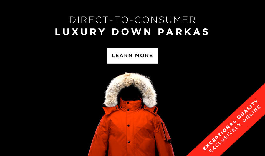 Direct To Consumer Parkas