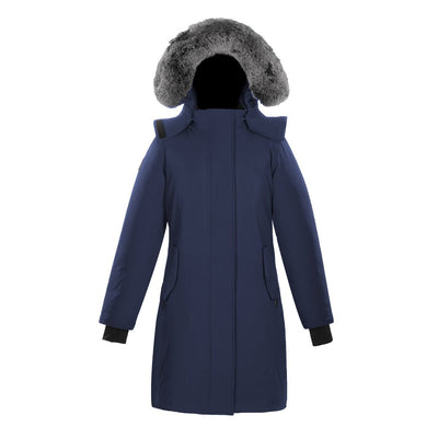Ellaria Women's Waterproof Parka Triple F.A.T. Goose Navy XS