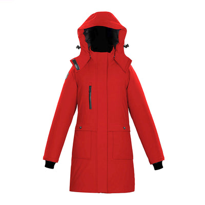 Seraphin Women's Waterproof Parka Triple F.A.T. Goose Red XS