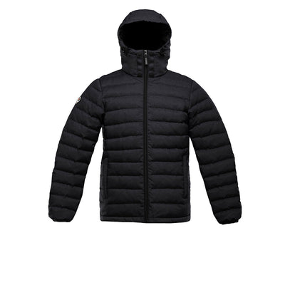 Logan Men's Lightweight Down Jacket Triple F.A.T. Goose Black S