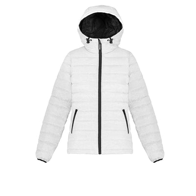 Whitney Women's Lightweight Down Jacket Triple F.A.T. Goose White XS