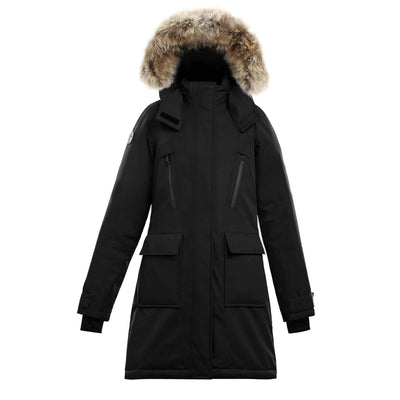 Suvo Women's Waterproof Parka Triple F.A.T. Goose Black S