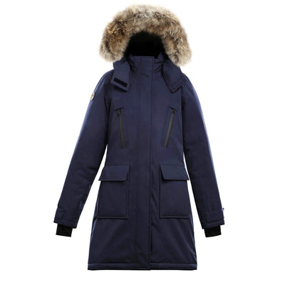 Suvo Women's Waterproof Parka Triple F.A.T. Goose Navy S