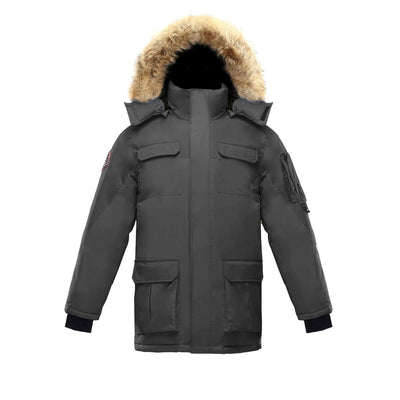 Chenega Parka (Men's) Triple F.A.T. Goose Grey With Fur S