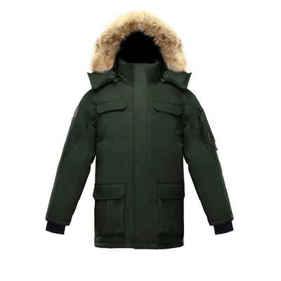 Chenega Parka (Men's) Triple F.A.T. Goose Olive With Fur S