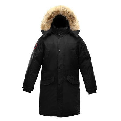 Eberly Parka (Men's) Triple F.A.T. Goose Black With Fur S