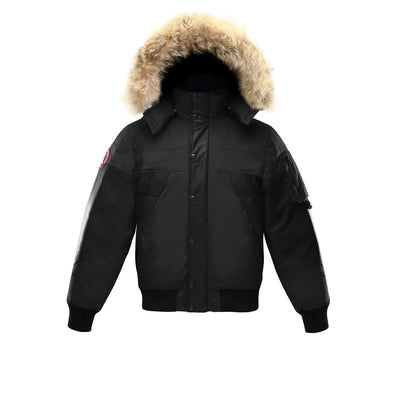 Ovstyn Coat (Men's) Triple F.A.T. Goose Black With Fur S