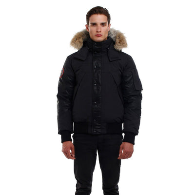 Ovstyn Coat (Men's) Triple F.A.T. Goose Black Without Fur ($50 Discount) S