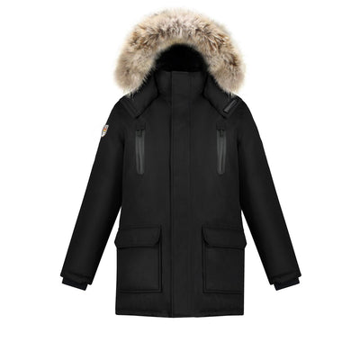 Stratus Men's Waterproof Parka Triple F.A.T. Goose Black S