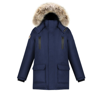 Stratus Men's Waterproof Parka Triple F.A.T. Goose Navy S