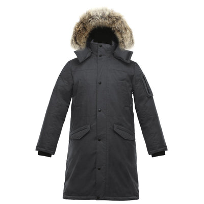 Eberly II Men's Long Parka v1 Triple F.A.T. Goose Charcoal S