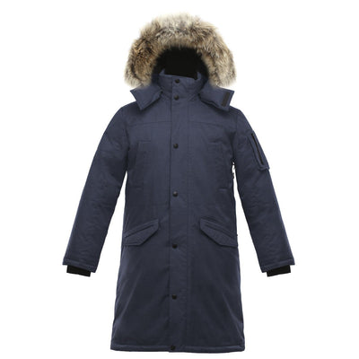 Eberly II Men's Long Parka v1 Triple F.A.T. Goose Navy S