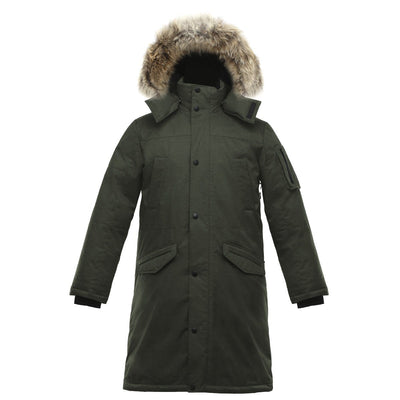 Eberly II Men's Long Parka v1 Triple F.A.T. Goose Olive S