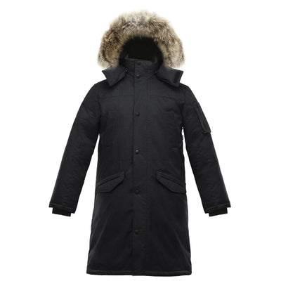 Eberly II Men's Long Parka Triple F.A.T. Goose Black S