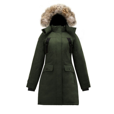 Astraea Women's Parka Triple F.A.T. Goose Olive XS