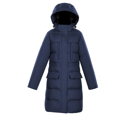 Fara Women's Puffer Down Jacket Triple F.A.T. Goose Navy XS