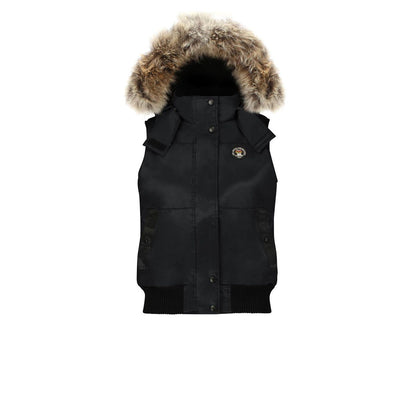 Huntley Women's Hooded Down Vest Triple F.A.T. Goose Black S
