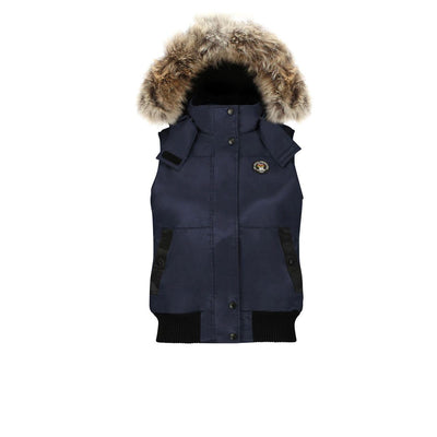 Huntley Women's Hooded Down Vest Triple F.A.T. Goose Navy S