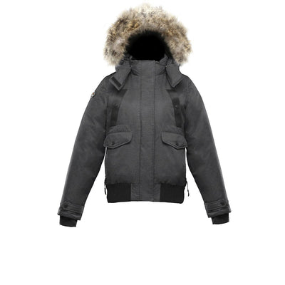 Norden Women's Bomber Triple F.A.T. Goose Charcoal S