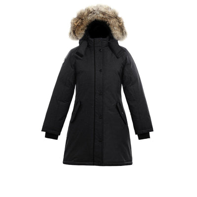 Alistair II Girl's Winter Parka Triple F.A.T. Goose Black 8