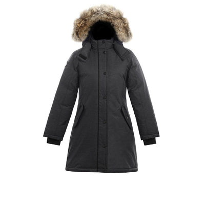 Alistair II Girl's Winter Parka Triple F.A.T. Goose Charcoal 8