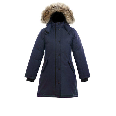 Alistair II Girl's Winter Parka Triple F.A.T. Goose Navy 8