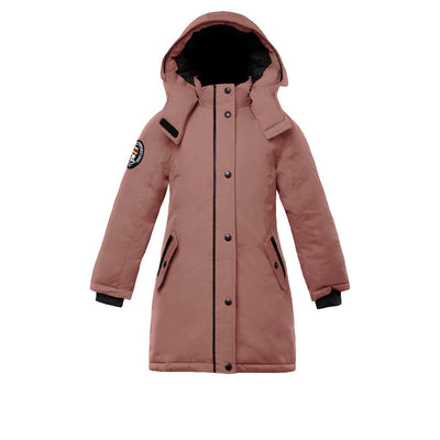 Alistair Girl's Parka Triple F.A.T. Goose Pink With Fur 4