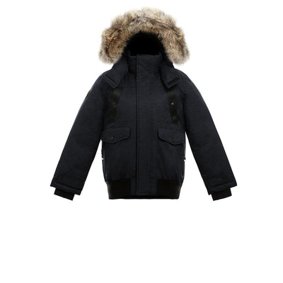 Norden Girl's Bomber Jacket Triple F.A.T. Goose Black 8