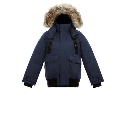 Norden Girl's Bomber Jacket Triple F.A.T. Goose Navy 8