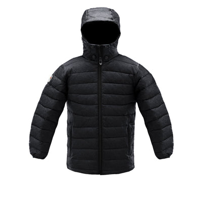 Logan Boy's Lightweight Down Jacket Triple F.A.T. Goose Black 8/10