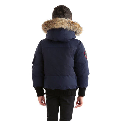 Grinnell Boy's Bomber Jacket Triple F.A.T. Goose