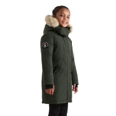 Alistair Girl's Parka Triple F.A.T. Goose