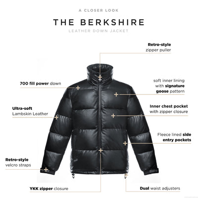 Berkshire Men's Leather Jacket