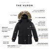 Huron Boy's Waterproof Parka