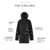 Chelsea Women's Lightweight Rain Jacket