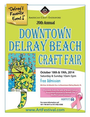 20th Annual Downtown Delray Beach Craft Fair