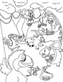 Tupi Finds His Tune Coloring and Activity book - Preview page 1