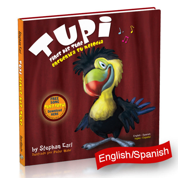 """Tupi Finds His Tune"" By Author Stephan Earl"